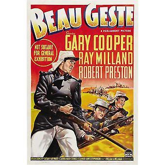 Beau Geste Movie Poster (11 x 17)