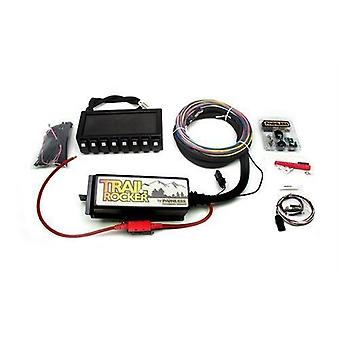 Painless Wiring 57040 Trail Rocker System Kit w/Dash Mounted Panel Prewired Switches For Up To Eight Accessories Trail R