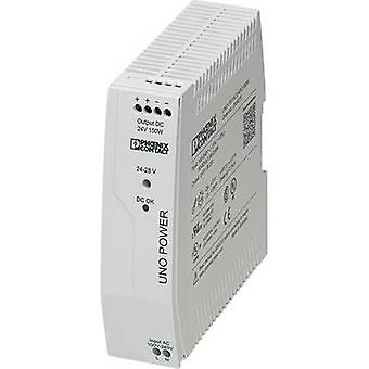 フェニックス ・ コンタクト宇野-PS/1AC/24 dc/150 w レール搭載の 150 W 電源ユニット (DIN) 24 Vdc 6.25 × 1