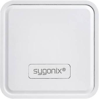 Sygonix Lucca 23620S Night light EEC: LED (A++ - E) Square LED RGB Sygonix white (matt)