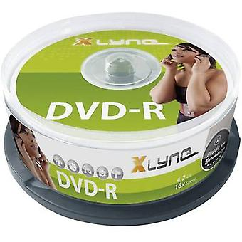 Xlyne 2025000 Blank DVD-R 4,7 Go 25 pc(s) Spindle