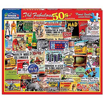 The Fabulous 50'S 1000 Piece Jigsaw Puzzle 760Mm X 610Mm