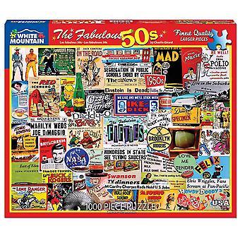 Die fabelhaften 50er Jahre 1000 Puzzle Puzzle-760 X 610 Mm
