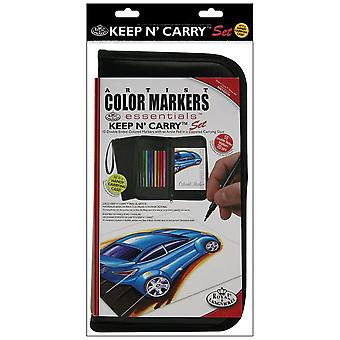 Keep N' Carry Artist Set-Color Markers