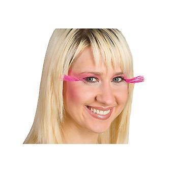 Pink star lashes long