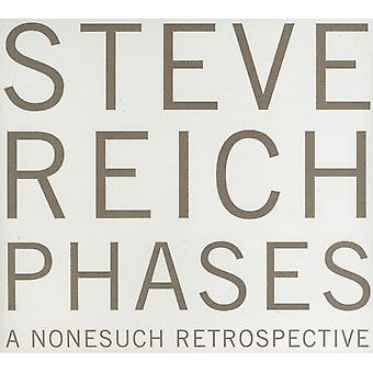 Steve Reich - Steve Reich: Phases [CD] USA import