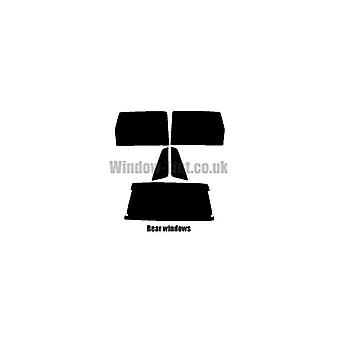 Pre cut window tint - Citroen AX 5-Door Hatchback - 1986 to 1998 - Rear windows