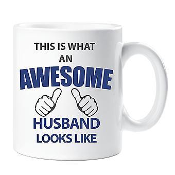 This Is What An Awesome Husband Looks Like Mug