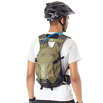 Camelbak Burnt Olive-Lime Punch 2018 Skyline LR - 10 Litre Hydration Pack with R
