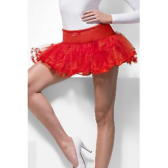 Womens Petticoat Red Fancy Dress Accessory