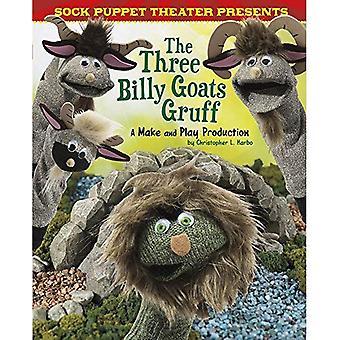 Sock Puppet Theatre presenterar de tre bockarna Bruse: A göra & spela produktion (Sock Puppet Theater)