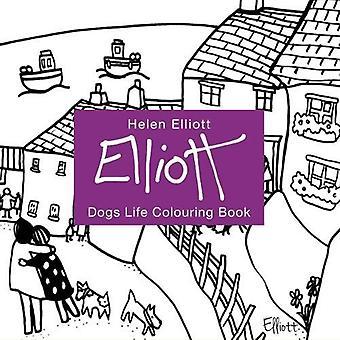 Helen Elliott Dog's Life Colouring