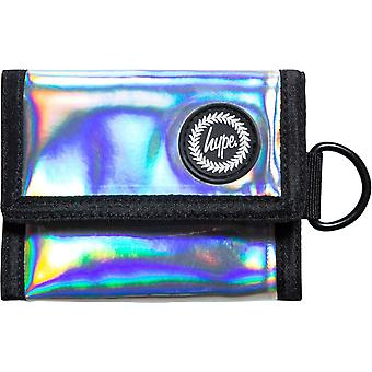 Hype Holographic Trifold Wallet