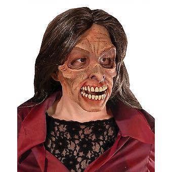 Frau lebenden Toten Latex-Maske für Halloween