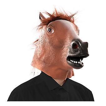 Hest maske hest maske maske LaTeX gummi maske voksen