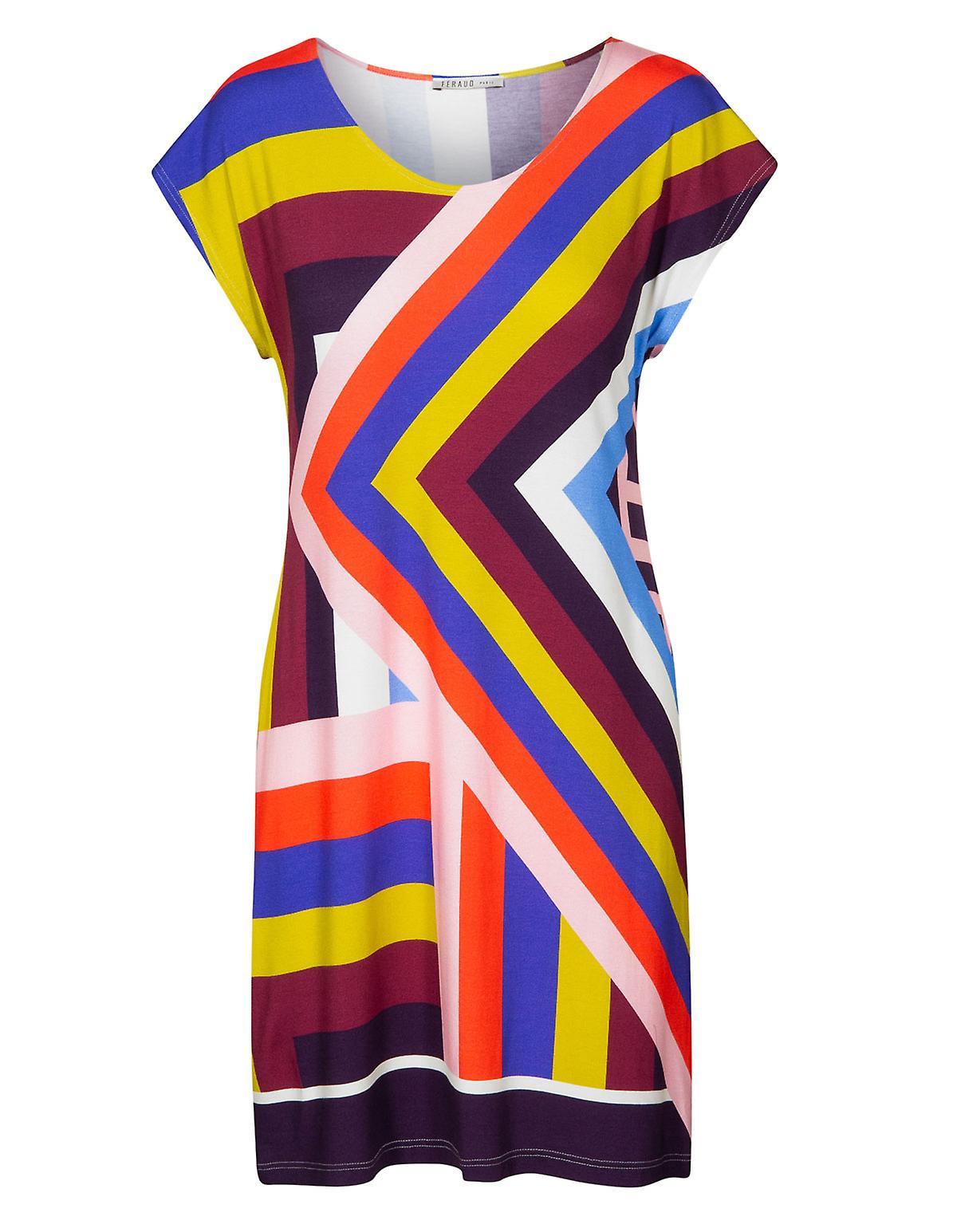 Feraud 3195100-16362 femmes& 039;s plage Graphic Multicolour plage Robe