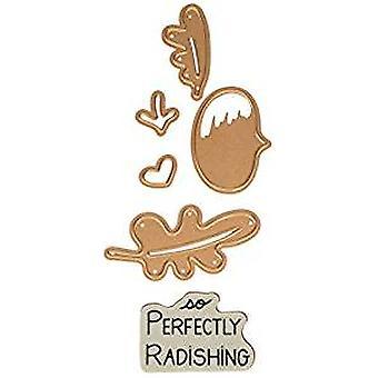 Truecan perfectamente Radishing sello y Die Set (SDS-048)
