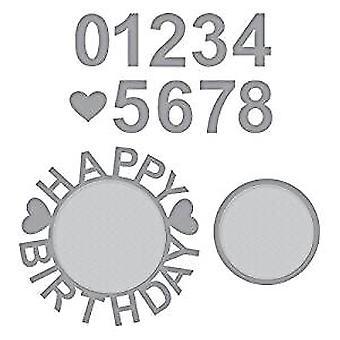 Spellbinders с днем рождения с номера умереть (S4-943)