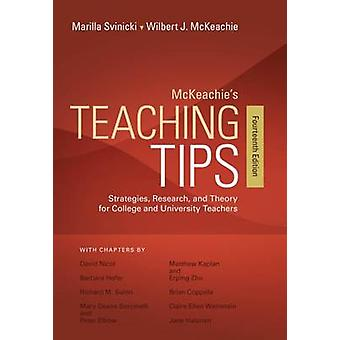 McKeachie's Teaching Tips (14th Revised edition) by Wilbert McKeachie