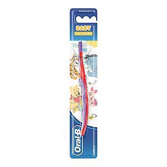 طفل عن طريق الفم ب 0-2 سنوات ويني بوه ديزني فرشاة الأسنان