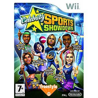 Celebrity Sports Showdown (Wii) - Factory Sealed