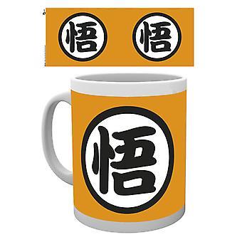 Dragonball Gokus kanji Boxed Drinking Mug