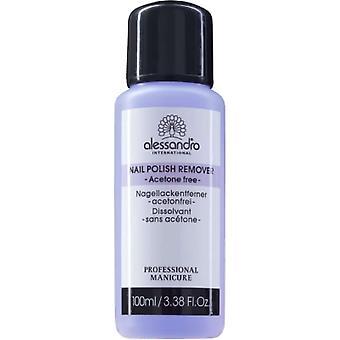 Alessandro Professional Manicure - Acetone Free Nail Polish Remover 100ml