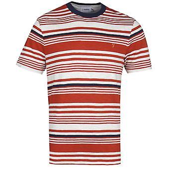 Farah Pinsley Orange Stripe T-Shirt