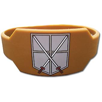 Wristband - Attack on Titan - New 104th Cadet Corps Brown Licensed ge64036