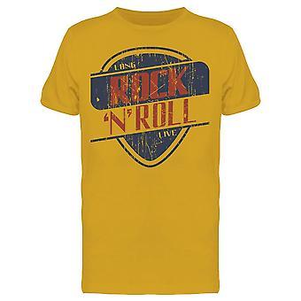 Grunge Rock N Roll  Tee Men's -Image by Shutterstock