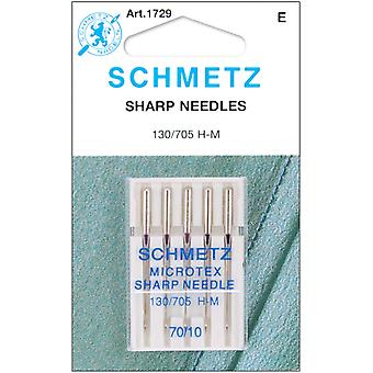 Microtex Sharp Machine Needles Size 10 70 5 Pkg 1729