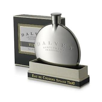 Dalvey Vitae Cologne in Stainless Steel Hip Flask
