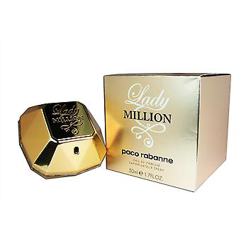 Lady Million af Paco Rabanne 1,7 oz 50 ml EDP Spray