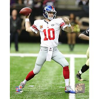 Eli Manning 2015 Action Photo skriva ut
