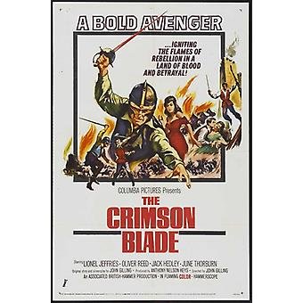 The Crimson Blade Movie Poster Print (27 x 40)