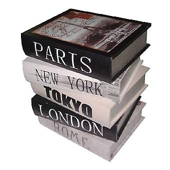 Decoration side table City Books