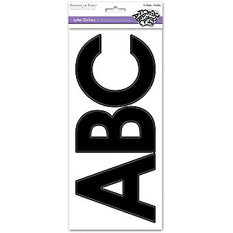 MultiCraft Letters Medley Stickers-Large Caps Black SS442A
