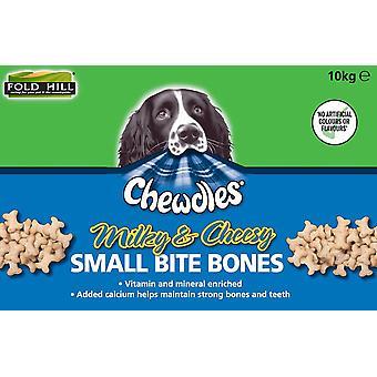 Chewdles Mælkevejen teatralsk små knogler 10kg