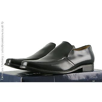 Kensington Mens All Real Leather Smooth Square Toe Tab Pointed shoes UK 6-12