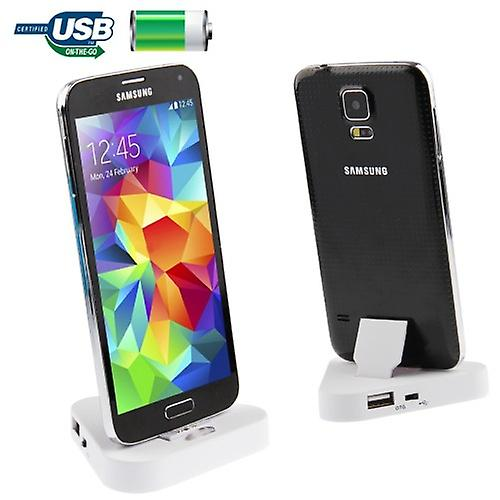 Docking Station White for Samsung Galaxy S5
