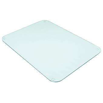 Tuftop 40cm x 30cm Worktop Saver, Clear, Textured Finish