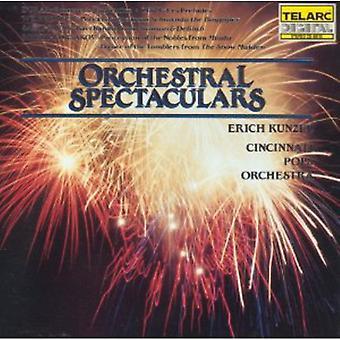 Erich Kunzel - Orchestral Spectaculars [CD] USA import