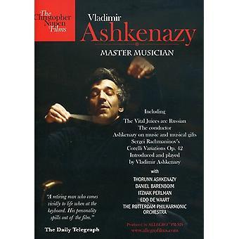 Vladimir Ashkenazy - mester musikeren [DVD] USA import