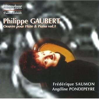 P. Gaubert - Philippe Gaubert: Oeuvre hæld Fl Te & klaver, Vol. 1 [CD] USA import