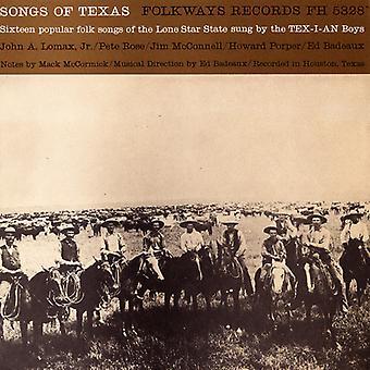 Tex-mi-an Boys - importazione USA canzoni del Texas [CD]