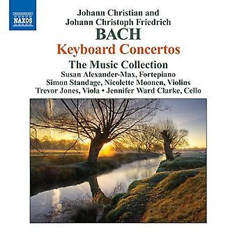 Bach., J.C./Bach, J.C.F. - Johann Christian & Johann Christoph Friedrich Bach: Tastatur Concertos [DVD] USA importere