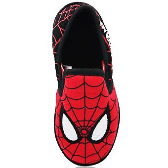 New Kids Boys Spiderman Morice Novelty Character Slipper