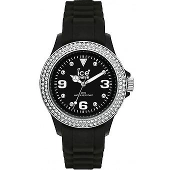 Ice-Watch Ice Sili Stein schwarz Damen Uhr STBSSS09