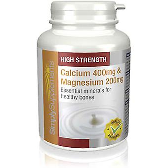 Calcium-400mg-magnesium-200mg - 180 Tablets