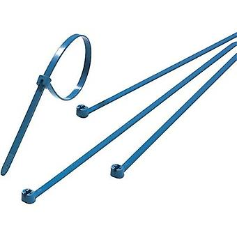 Cable tie 340 mm Blue Metal latch ABB TY527M-NDT